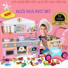 Do choi cho be, Đồ chơi nhà bếp bằng gỗ cao cấp, món quà ý nghĩa tặng cho bé yêu của bạn, an toàn, giúp trẻ phát triển toàn diện, BH 1 đổi 1, SALE 50%
