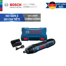 Máy vặn vít Bosch Go Gen 2 + tặng kèm bộ phụ kiện 32 chi tiết