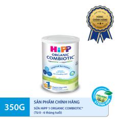 [FREESHIP] Sữa HiPP 1 ORGANIC COMBIOTIC 350g – Hữu cơ, Non GMO, tăng sức đề kháng