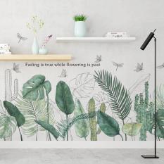 Decal Dán tường Bộ sưu tập các mẫu hoa lá trang trí phòng khách phòng ngủ. Nhựa PVC độ bền cao không thấm nước. 100% thương hiệu mới chất lượng cao