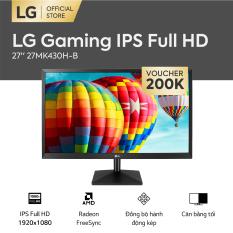 [FREESHIP – VOUCHER 200K – TRẢ GÓP 0%] Màn hình máy tính LG Gaming 27 inches IPS Full HD1920 x 1080   Gaming l Radeon FreeSync™ l 27MK430H-B   HÀNG CHÍNH HÃNG