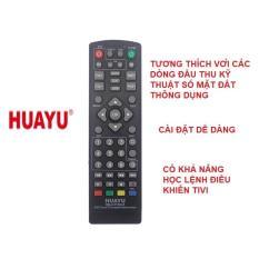 Remote điều khiển đầu thu kỹ thuật số mặt DVB-T2 đa năng RM-D1155+6