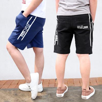 Quần đùi bé trai size đại, quần sooc mùa hè bé trai 5 -14 tuổi phong cách Hàn Quốc cho...