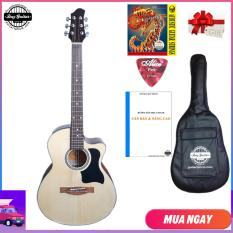 Đàn guitar Acoustic DVE70 + Bao da, capo, phụ kiện Duy Guitar – Shop đàn ghita giá rẻ – Đàn ghi-ta dành cho người mới tập – Shop đàn ghi ta đệm hát modern