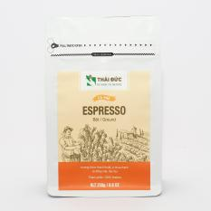 Cà phê Thái Đức – Dòng cafe rang xay Espresso 250g