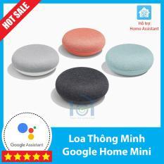 Loa thông minh kiêm trợ lý ảo Google Home Mini chính hãng nguyên seal, câu lệnh đơn giản, thiết kế nhỏ gọn