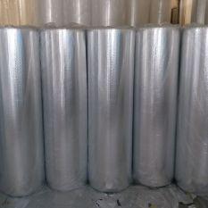 (GIÁ HỦY DIỆT) Combo 10mx1m55 tấm cách nhiệt, cách âm – cách nhiệt mái tôn lớp 2 mặt bạc