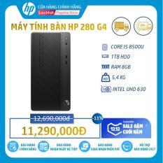 Máy tính để bàn HP 280 G4 Microtower (Intel Core I5-8500/ 8GB RAM DDR4/ 1TB HDD/DOS/8JU09PA) – Hàng Chính Hãng