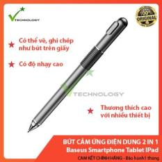 Bút Cảm Ứng Điện Dung 2 in 1 Baseus Smartphone Tablet IPad