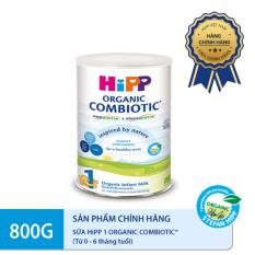Sữa bột DD HiPP 1 Combiotic Organic 800g