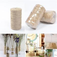 Cuộn 100m dây thừng 2mm chất liệu dây chắc chắn, dùng trang trí handmade, đồ thủ công, lọ hoa, phong cách vintage