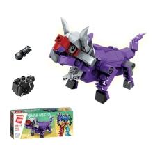 đồ chơi thông minh Xếp hình Lego đồ chơi mô hình siêu nhân robot từ khủng long trí tuệ 6 trong 1