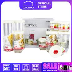 INL301WS10 – Bộ 10 hộp Lock&Lock Interlock giúp bảo quản thực phẩm tránh được mùi thức ăn hay thực phẩm bên trong hộp có thể đổ ra ngoài. Thiết kế tiện lợi nắp đậy chắc chắn chất liệu