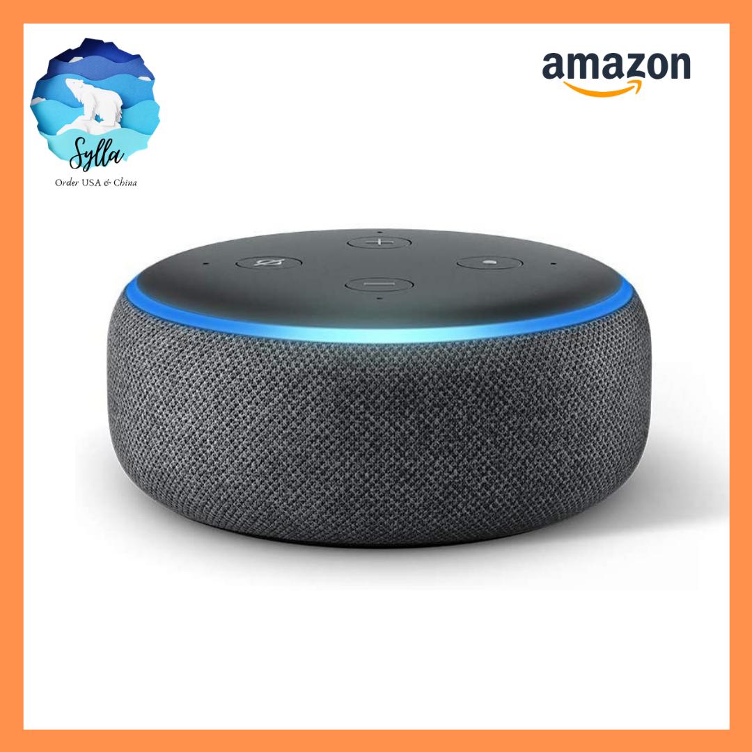 Loa Amazon Echo Dot 3 – loa thông minh Alexa gen 3 [Nhập USA]