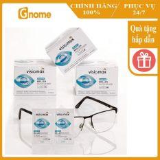 [Hàng Nhập Đức] Giấy lau kính Visiomax 52 miếng lau màn hình điện thoại, lau ống kính kháng khuẩn sạch triệt để chống tĩnh điện ngăn ngừa mờ sương