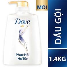 Dầu gội Dove Hư tổn 1400g