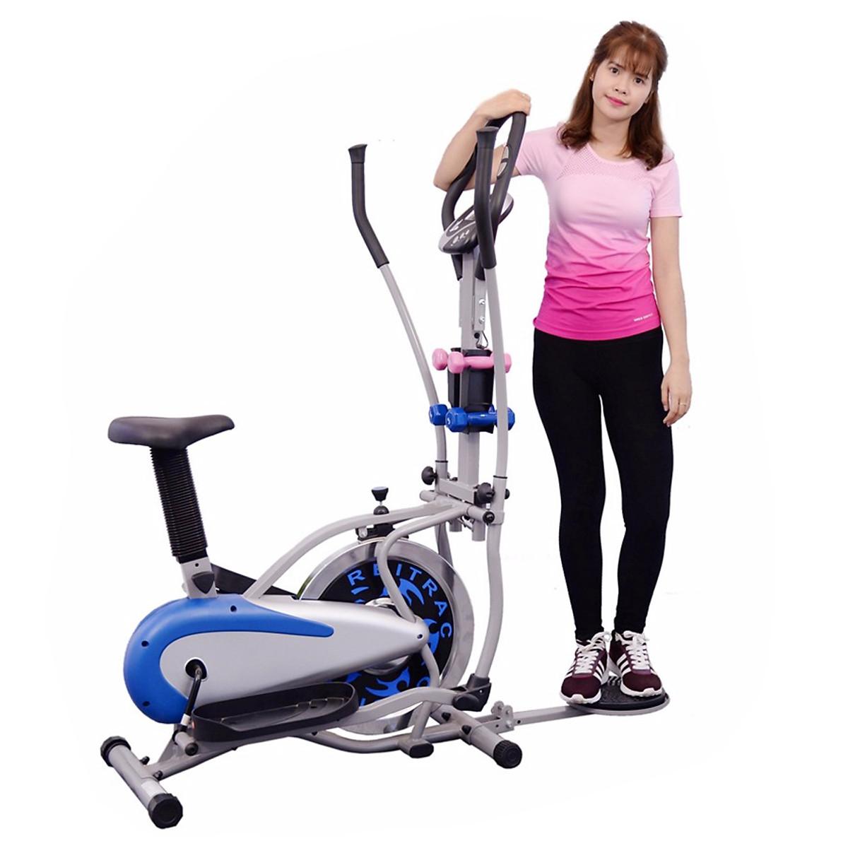 Xe đạp tập Orbitrack Air Bike MO-2085 – Có yên và đĩa xoay eo