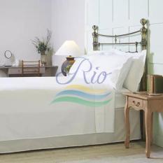 Bộ tấm trải trắng trơn cho khách sạn-resort dành cho nệm 20-30cm