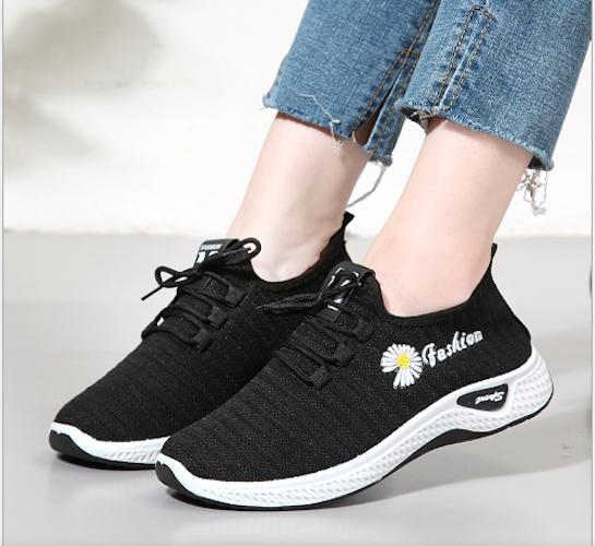 Giày nữ – giày thể thao nữ-giày sneaker nữ – giày tập thể dục hoa cúc Hoa thêu mềm Giày Oldpapa Thoáng Khí Phong Cách Hàn Quốc Giày Thể Thao Cho Nữ Nền Tảng Chạy Tập Thể Dục Giày Kasut Wanita Cho Nữ Mới td1