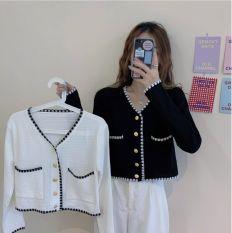 Áo khoác len dáng ngắn kèm video thật phong cách ulzzang hot trend AKL02