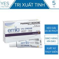 Tinh Chất Chống Xuất Tinh Sớm Emla Cream 5% [ YesShop-TC01 ](CT01)