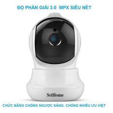 Camera IP Srihome SH020 3.0Mpx hồng ngoại siêu sáng