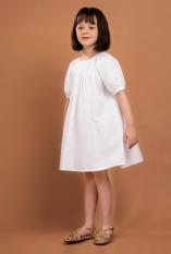 Anthenea dress in White