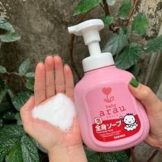 Combo Sữa Tắm Gội Toàn Thân Arau Baby 450ml