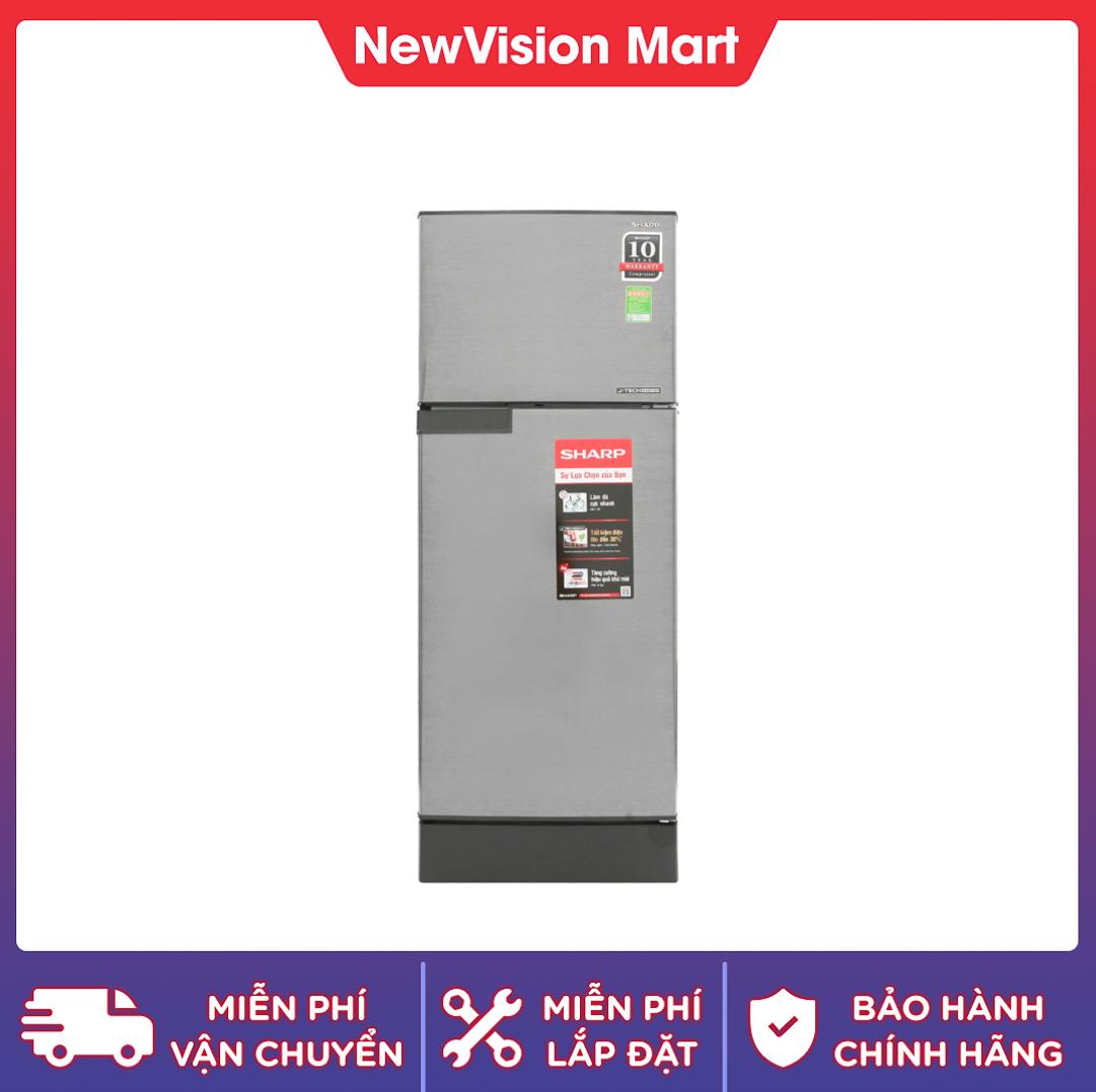 [Trả góp 0%]Tủ lạnh Sharp Inverter 165 lít SJ-X196E-DSS – dự kiến giao hàng sau 6/9