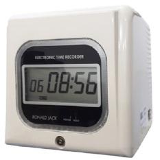 [Trả góp 0%]Máy chấm công thẻ giấy RONALD JACK RJ-990N – Đồng hồ điện tử