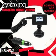 Sạc xe hơi cho Camera hành trình SJCAM SJ4000 / SJ5000 / M10 – Hãng phân phối chính thức