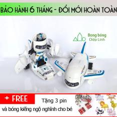 Robot biến hình ôtô-Xe biến hình- Máy bay biến hình robot-đồ chơi biến hình( Tặng 3 Pin)