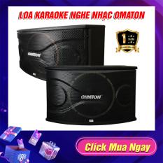 Loa Karaoke , Loa nghe nhạc , Loa Treo Tường Omaton P-319K Bass 2,5 Tấc Từ Đôi Dòng Cao Cấp Cực Hay – Âm Thanh Chuẩn
