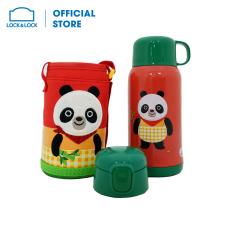 Bình giữ nhiệt Cartoon Kids Lock&Lock 550ml – Gấu Panda