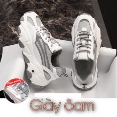 Giày thể thao nữ đế 5P Viền phản quang Mã H5 Kiểu dáng Sport cực đẹp