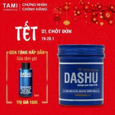Sáp vuốt tóc nam DASHU For Men Premium Ultra Holding Power Siêu cứng Siêu giữ nếp TM-SAP01