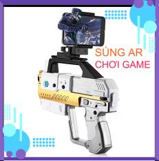 Súng chơi game kết nối bluetooth trên điện thoại. Công nghệ AR Game 3D chân thật. Dễ dàng sử dụng, bảo hành 12 tháng