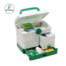 Hộp đựng thuốc , hộp y tế gia đình , tủ nhựa đựng đồ nhiều ngăn đa năng