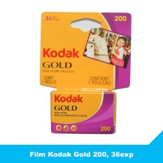 Film Kodak Gold 200, 36exp – Phim chụp ảnh 35mm