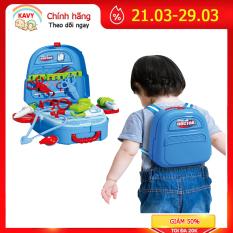 Bộ đồ chơi bác sĩ cho bé kèm cặp đựng tiện lợi, giúp bé nhận biết dụng cụ, quan sát học hỏi -KAVY