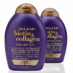 Cặp Dầu Gội + Dầu xả Thick & Full – Biotin & Collagen 385ml (Hàng Xách tay Mỹ)