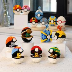 Xếp hình lego pokemon kèm bóng