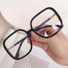 【DayDay Shop】Bộ kính trên máy tính Khung Phụ nữ chống đèn xanh Chặn đen khung nhựa dẻo