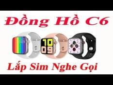 SALE HOT-Đồng Hồ Thông Minh Chống Nước JBKJ C6, Đồng Hồ Theo Dõi Sức Khỏe