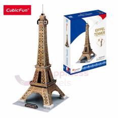 [GIẢI TRÍ+TRƯNG BÀY] Mô hình lắp ráp 3D Cubic Fun Tháp Eiffel (Nhỏ) C044h