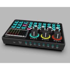 Soundcard Mixer X6-Mini Bluetooth- chuyên thu âm, hát karaoke, livetream fb, shopee, bán hàng online