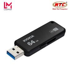 USB 3.2 Gen 1 Kioxia U365 TransMemory 64GB 150Mb/s – Formerly Toshiba Memory (Đen) – Nhat Tin Authorised Store