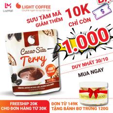 [149K CÓ QUÀ TẶNG] Cacao sữa Terry đặc biệt không pha trộn hương liệu, thơm ngon và tiện lợi Light Cacao Gói 50g