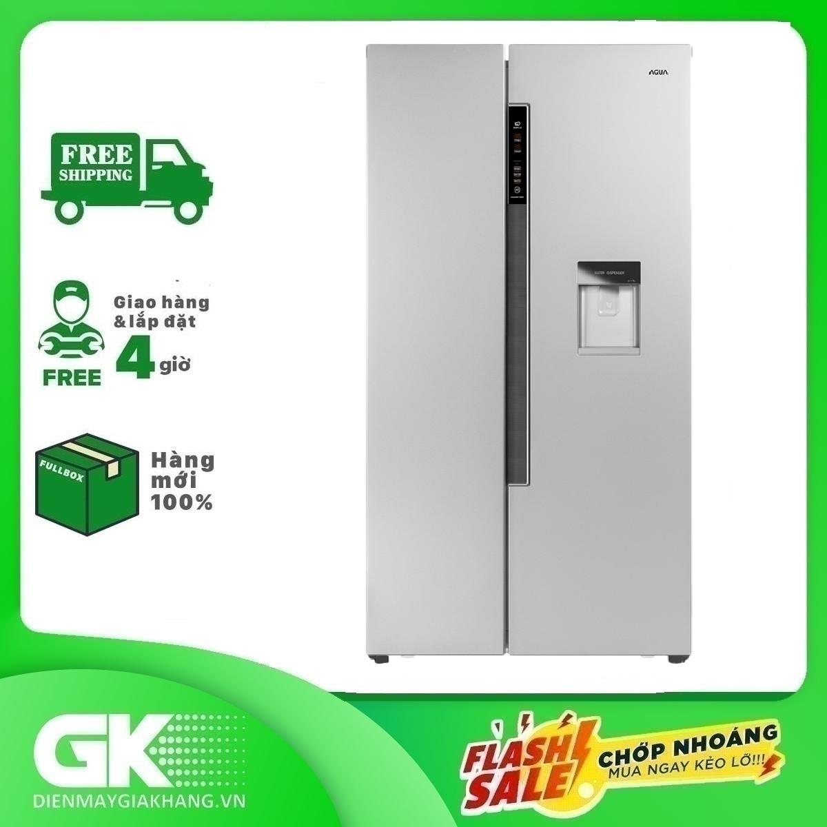 Tủ lạnh Aqua Inverter 557 lít AQR-I565AS SW