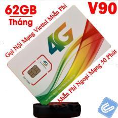 SIM 4G 10 số VIETTEL V90 miễn phí gọi nội mạng, tặng 62GB DATA.Sử dụng toàn quốc từ Gemhome